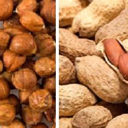 hazelnoot-pinda